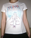 Man Man Shirt 3D M (girls)