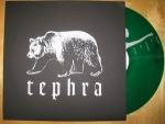 Tephra, demo, 12 inch, cover black - silver