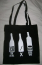 White Wine / Vin Blanc - bag black